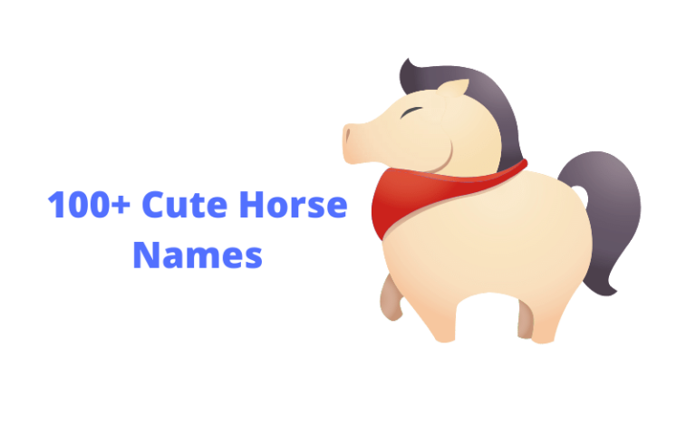 cute horse names list
