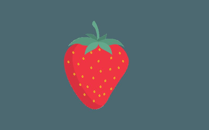 horses eat strawberries