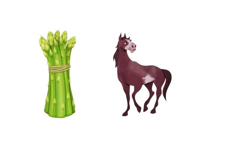 Can-Horses-Eat-Asparagus-stalks