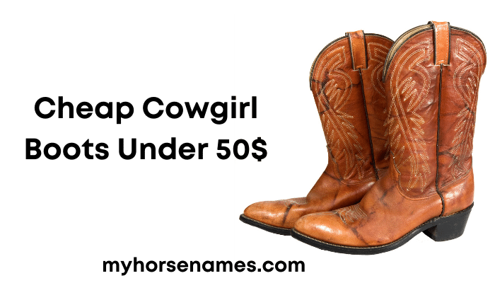 Cheap Cowgirl Boots Under 50$