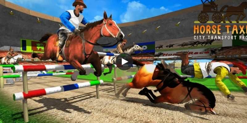 The Horse Taxi City School Transport Pro