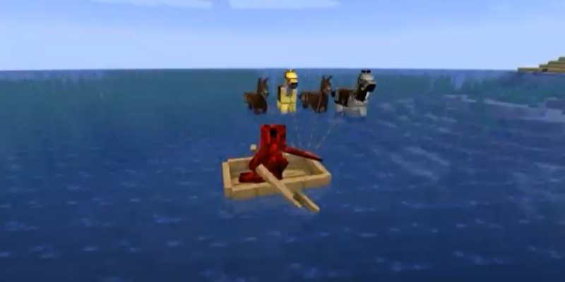 Put a Horse in a Boat