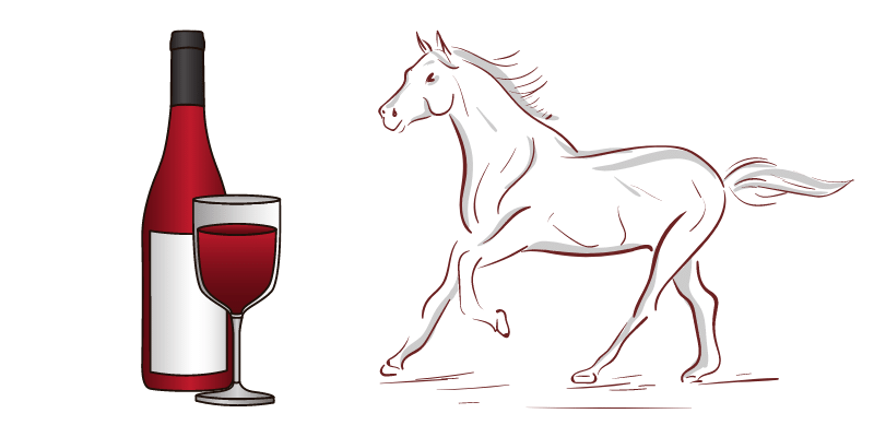 horse-and-drinks