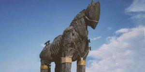 How Big was the Trojan Horse